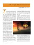 Risk Analysis of Nuclear Deterrence - Page 2