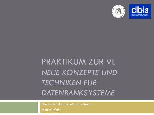 Praktikum-Foliensatz-04-Algorithmen - dbis - Humboldt-Universität ...