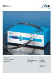 Product information bluepoint 4 - Dr. Hönle AG