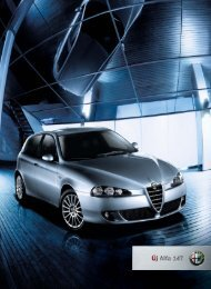 Alfa Romeo 147 katalógus - Kelet-Pest