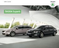 Å koda Superb Katalog (PDF) - DHT Automobile