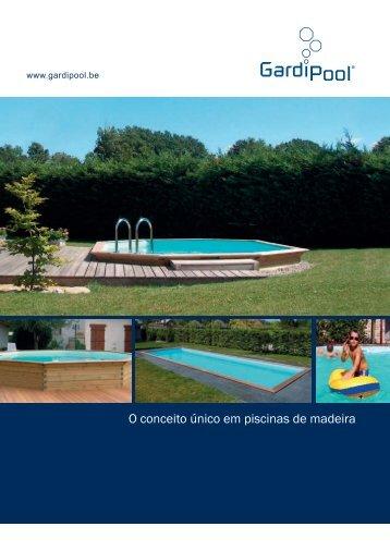 O conceito único em piscinas de madeira - Gardipool