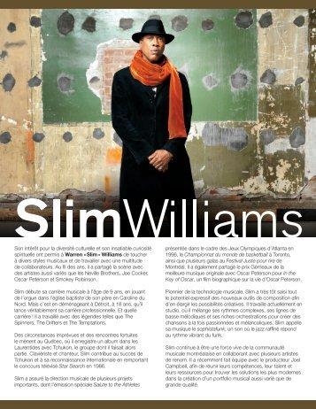 Slim » Williams de - Ponderosa