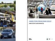 Umwelterklärung der BMW Group - BMW Werk Berlin