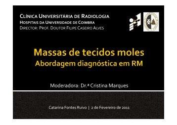 Massas de tecidos moles - abordagem diagnóstica em RM - H.U.C.