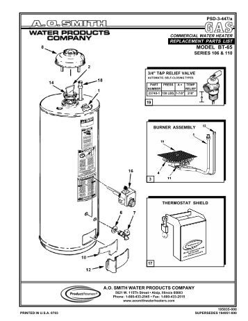Ao Smith Wiring Diagram Water Heater on ao smith motor wiring diagram