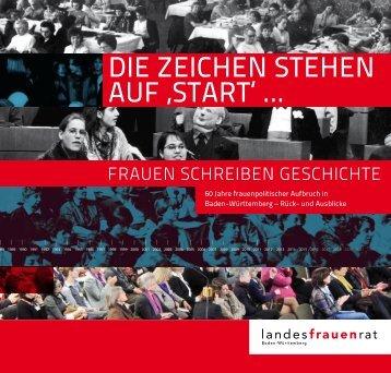 Die Zeichen stehen Auf 'stARt - Liberale Frauen Baden-Württemberg