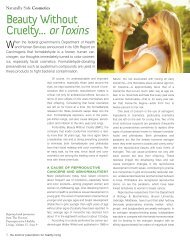 Doctor Prescription for Healthy Living October 2011 - Beauty Without ...