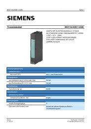 Product data sheet 6ES7134-4GB11-0AB0 - TP Automation e.K.