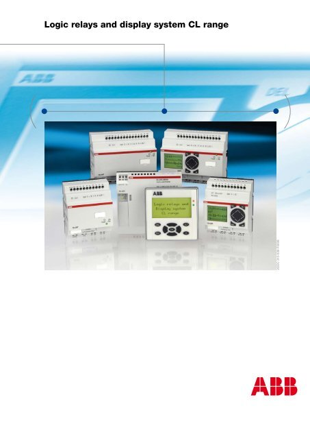 Logic relays and display system CL range - Abb on