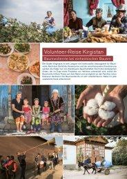 Volunteer-Reise Kirgistan - Globotrek