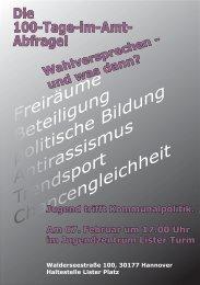 FLyER 07 final.indd - Die Falken Hannover. Sozialistische Jugend ...