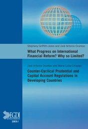 What Progress on International Financial Reform? - Global ...