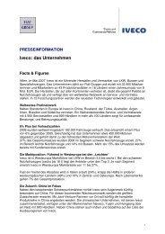 Iveco: das Unternehmen