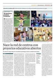 CEIP Adriano del Valle en la prensa 1