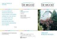 AMBULANT BETREUTES WOHNEN - DIE BRÜCKE Lübeck