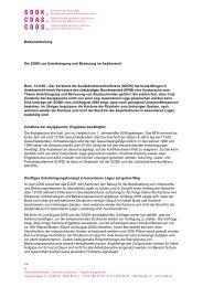 Medienmitteilung vom 12. September 2008 - SODK