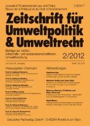Anpassung an den Klimawandel - Universität Oldenburg