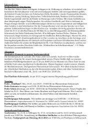 Informationen - bei der Kath. Seelsorgeeinheit Rheinmünster ...
