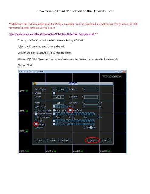 q see qc port forwarding
