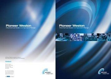 Mechanical Seals from Pioneer Weston Technical Brochure - Eriks UK