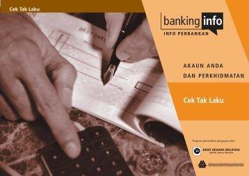 Cek Tak Laku - Banking Info