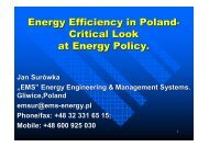 Energy policy of Poland