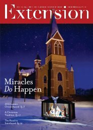 Download the Christmas 2012 issue of Extension magazine
