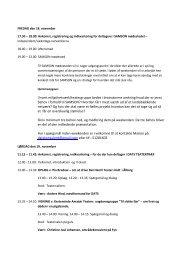 Program i PDF - DATS