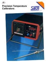Precision Temperature Calibrators