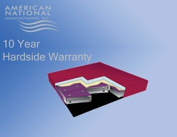 10 Year Hardside Warranty - American National Manufacturing Inc.