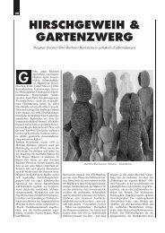 HIRSCHGEWEIH & GARTENZWERG - Spinnst?