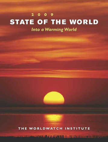 State of the World 2009 - Worldwatch Institute