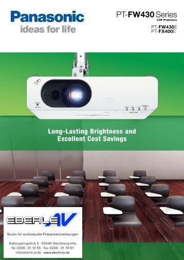 FW430E - VITEC - Professionelle Audio Video Systeme