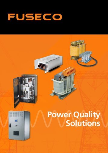 Power Quality Brochure - Fuseco