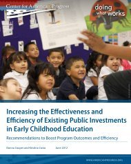 Increasing the Effectiveness and Efficiency of Existing Public ...