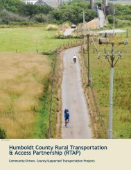 Rural Transportation & Access Partnership - County of Humboldt