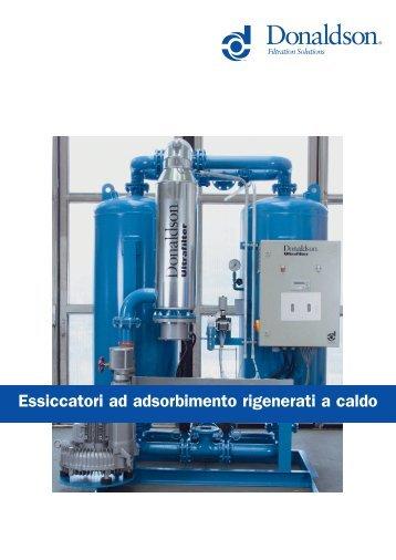 Heat Regenerated Adsorption Dryer (Brochure ... - Michele Caroli Srl