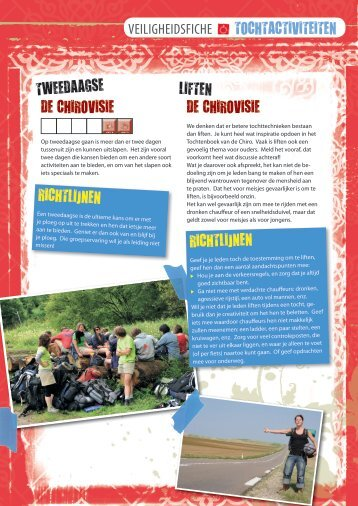 De fiche (pdf) - Chiro - Chirojeugd Vlaanderen