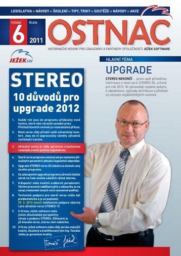 Noviny Ostnáč 6/2011 - Ježek software