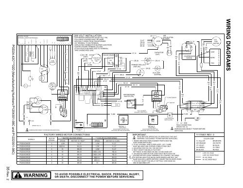 34 Rev. 2 PGD24-42C***02E Heatcraft Dtfd Wiring Diagram on