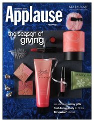 season of giving - Mary Kay