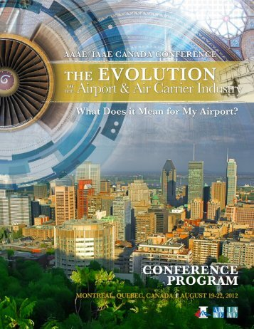 Official Conference Program (PDF) - American Association of Airport ...