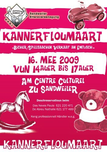 Am Centre Culturel ZU SandweileR - APE Contern