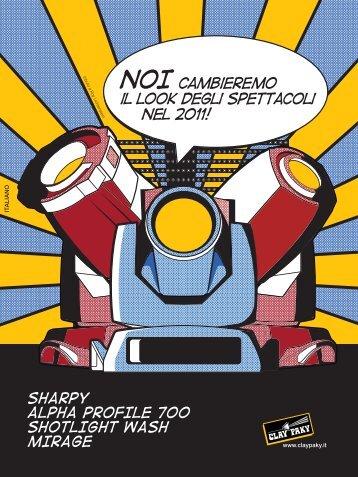 Nuovi Prodotti 2011 - Clay Paky
