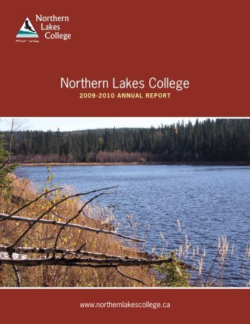 Annual Report 2009-2010 - Northern Lakes College