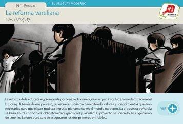 La reforma vareliana - Manosanta