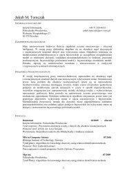 Jakub M. Tomczak - Instytut Informatyki