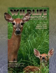 Wildlife Management Plan for the Oak Ridge Reservation