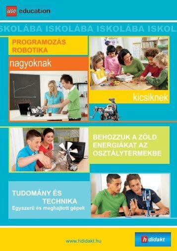 2011 Iskolai prospektus (magyar) - h-didakt